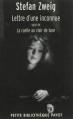 Couverture Lettre d'une inconnue suivi de La ruelle au clair de lune Editions Payot (Petite bibliothèque) 2012