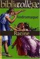 Couverture Andromaque Editions Hachette (Biblio collège) 2000