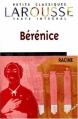 Couverture Bérénice Editions Larousse (Petits classiques) 1999