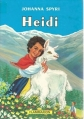 Couverture Heidi /  Heidi, fille de la montagne Editions Flammarion 1987
