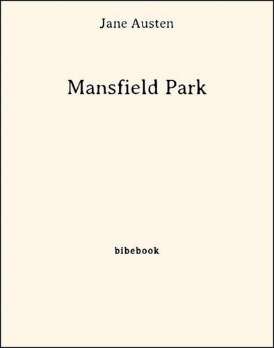 Couverture Mansfield park