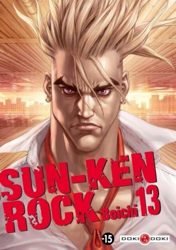 Couverture Sun-Ken Rock, tome 13