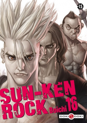 Couverture Sun-Ken Rock, tome 16