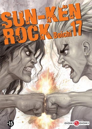 Couverture Sun-Ken Rock, tome 17