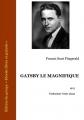 Couverture Gatsby le magnifique Editions Ebooks libres et gratuits 2012