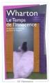 Couverture Le temps de l'innocence / L'âge de l'innocence Editions Flammarion (GF) 1987