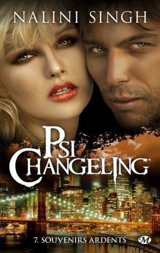 Couverture Psi-changeling, tome 7 : Souvenirs ardents