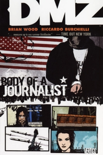 Couverture DMZ, book 02: Body of a journalist