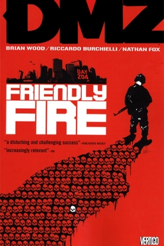 Couverture DMZ, book 04: Friendly Fire