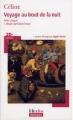 Couverture Voyage au bout de la nuit Editions Folio  (Plus classiques) 2008