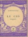 Couverture Le Cid Editions Larousse (Classiques) 1933