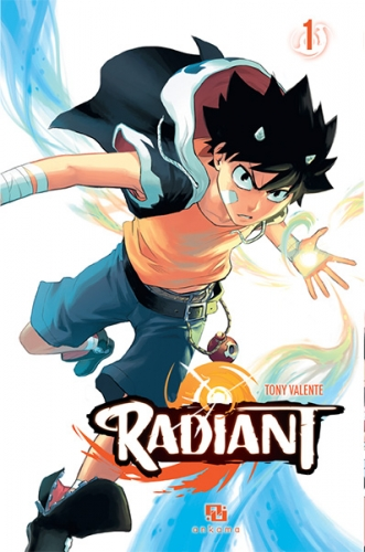 Couverture Radiant, tome 01