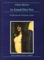 Couverture Le grand dieu Pan Editions Ombres (Petite Bibliothèque) 1993