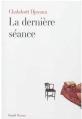 Couverture La dernière séance Editions Fayard 2013