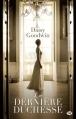 Couverture La dernière duchesse Editions  2013