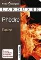 Couverture Phèdre Editions Larousse (Petits classiques) 2009