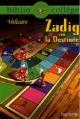 Couverture Zadig / Zadig ou la destinée Editions Hachette (Biblio collège) 2009