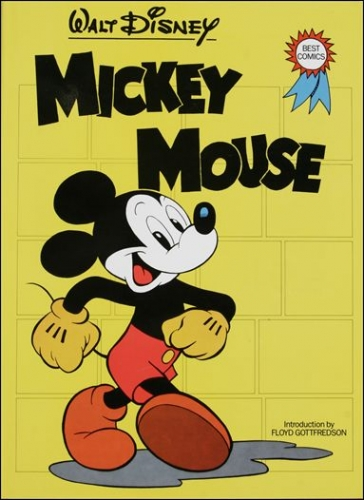 Couverture Mickey Mouse