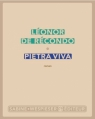 Couverture Pietra viva Editions Sabine Wespieser 2013