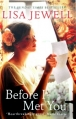 Couverture Before I met you Editions Century 2012