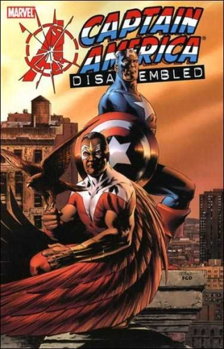Couverture Avengers Disassembled: Captain America