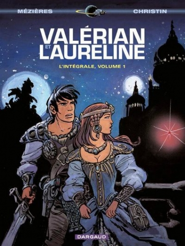 Couverture Valérian et Laureline, intégrale, tome 1