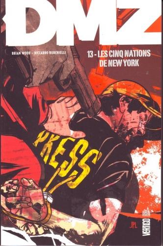 Couverture DMZ, tome 13 : Les cinq nations de New York