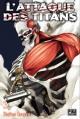 Couverture L'attaque des Titans, tome 03 Editions Pika (Seinen) 2013