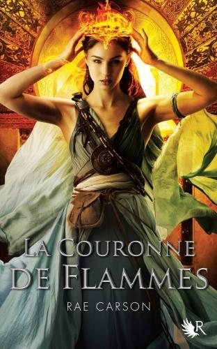 Couverture La fille de braises et de ronces, tome 2 : La couronne de flammes