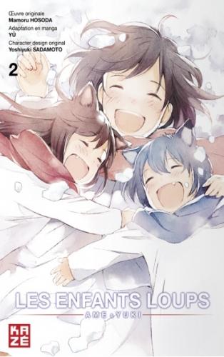 Couverture Les enfants loups : Ame & Yuki, tome 2