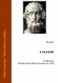 Couverture L'Iliade / Iliade Editions Ebooks libres et gratuits 2004