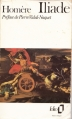 Couverture L'Iliade / Iliade Editions Folio  1975