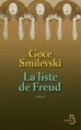 Couverture La Liste de Freud Editions Belfond 2013
