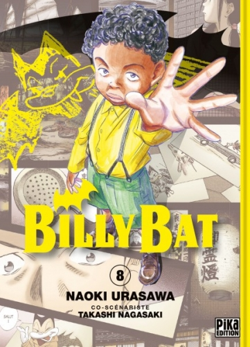 Couverture Billy Bat, tome 08
