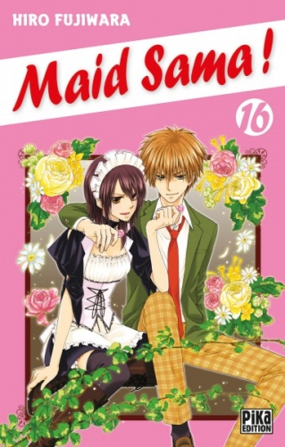Couverture Maid Sama !, tome 16