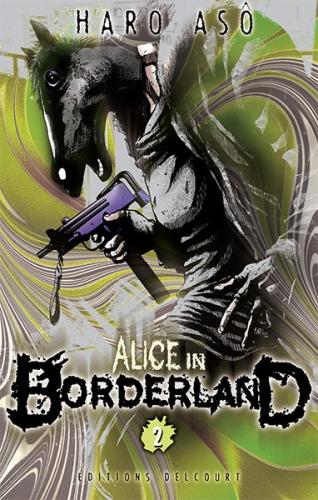 Couverture Alice in borderland, tome 02