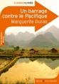 Couverture Un barrage contre le Pacifique Editions Belin / Gallimard (Classico - Lycée) 2011