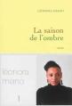 Couverture La saison de l'ombre Editions Grasset 2013
