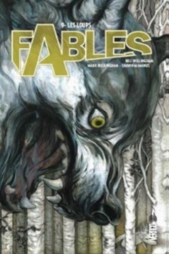 Couverture Fables (cartonné), tome 09 : Les loups