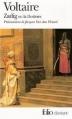 Couverture Zadig / Zadig ou la destinée Editions Folio  (Classique) 1999