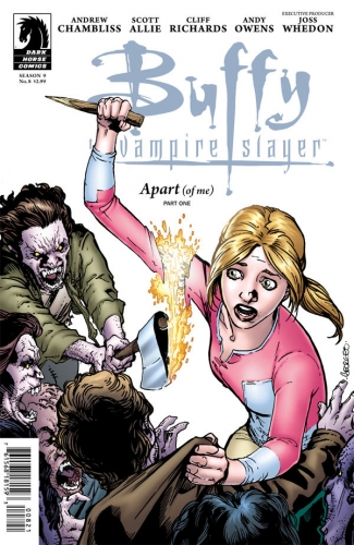 Couverture Buffy The Vampire Slayer, season 9, book 08: Apart of me, part 1