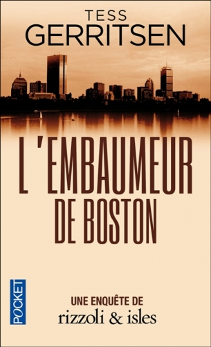 Couverture L'embaumeur de Boston
