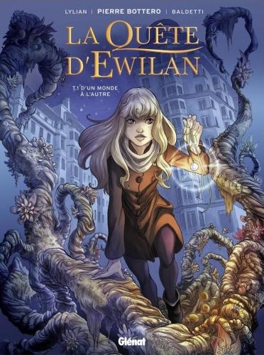 Couverture La Quête d'Ewilan (BD), tome 1 :  D'un monde à l'autre