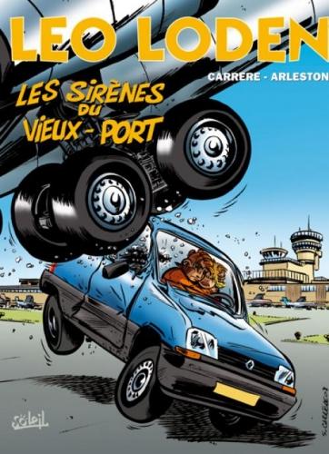 Couverture Léo Loden, tome 02 : Les sirènes du vieux-port