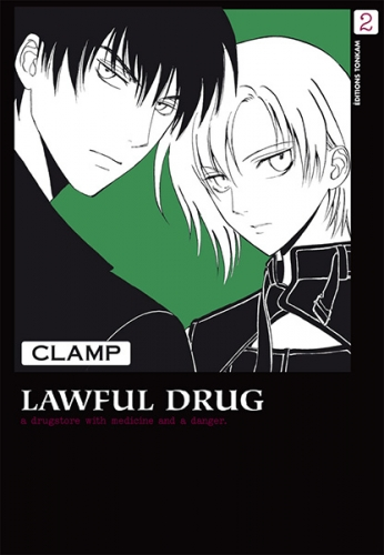 Couverture Lawful drug, tome 2