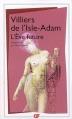 Couverture L'Eve future Editions Flammarion (GF) 2008