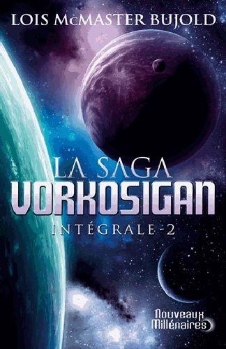 Couverture La Saga Vorkosigan, intégrale, tome 2