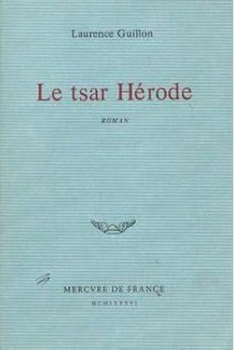 Couverture Le tsar Hérode