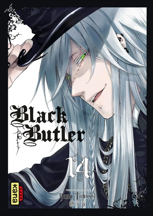 Couverture Black Butler, tome 14