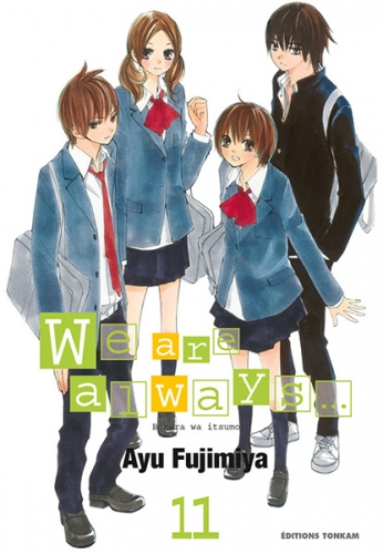 Couverture We are always..., tome 11